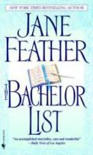 The Bachelor List Feather, Jane Mass Market Paperback