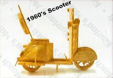 1960's SCOOTER MOTORBIKE MATCHSTICK MODEL KIT, BRAND NEW