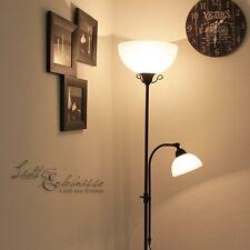 rustique Lampadaire à vasque lampe de lecture LUMINAIRE
