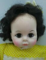 "Alexander Pussycat Doll 14"" BRUNETTE w/ Dark EYES Adorable Vintage Tagged Outfit"