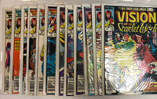 Vision And The Scarlet Witch (1985) # 1-12 (VF/NM) Canadian CPV  | Wandavision