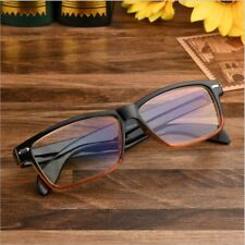 Retro Reading Glasses Men Black Frame Brown Women Eyewear 1.0 4.0 Reader