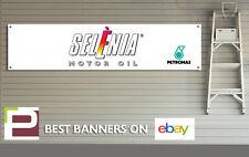 OLIO MOTORE SELENIA banner per officina, ufficio, garage, PETRONAS, FIAT ABARTH 500