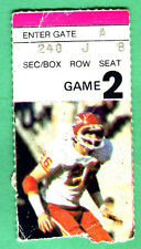 9/6/81 STEELERS/CHIEFS NFL FOOTBALL TICKET STUB