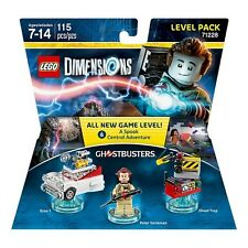 LEGO Dimensions Ghostbusters Level Pack 71228 Peter Venkman, Ecto-1 Trap (#1319)