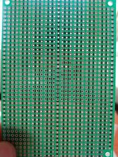3x Stripboard Vero 10x7cm 3er joint hole Prototype Fiberglass circuit board pcb