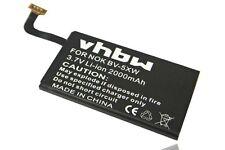 Batteria vhbw 2000mAh per Nokia Lumia 909, Lumia 1020, Nokia BV-5XW