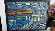 Abstrakte künstlerische Öl-Malerei