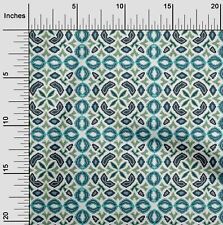 oneOone Floral Flame Stitch Fabric Prints By Yard - FI-1045A_3