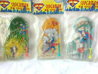 Set of 3  Superman Classic Pinball Game
