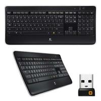 Logitech K800 Wireless Illuminated Backlit Keyboard w/ Unifying USB Receiver