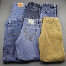 Boy's 6 Pair Lot Jeans Levi's Wrangler US Polo Assn. Old Navy Size 16