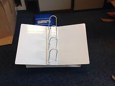 Comptoir catalogue support en métal blanc livre mont. de vente au détail relieur