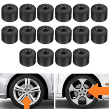 16x 17mm Car Wheel Nut Lug Bolt Cover Caps For VW Passat Golf Polo Tiguan Jetta