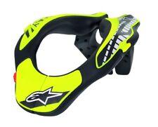 Alpinestars Youth Neck Support Collar Protection Helmet Black & Yellow 2018