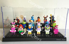 lego disney mini figures display case 71012 full set display 18 + places storage