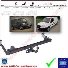Gancio di traino fisso Fiat Doblo 2001-2009 OMOLOGAZIONE | NUEVO