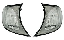 CLEAR INDICATORS FOR BMW E46 3 SERIES FACELIFT SALOON & ESTATE TOURING