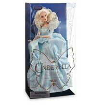 Disney Store Fairy Godmother CINDERELLA live movie Film Collection Doll NEW