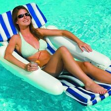 Swimline 10010 SunChaser Swimming Pool Padded Floating Luxury Chair Lounger New