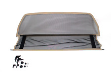 Coupe vent / Filet anti remous BEIGE MERCEDES CLK W208 A208 Cabrio