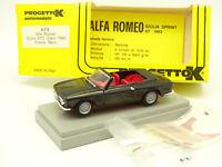 Progetto K 1/43 - Alfa Romeo Giulia GTC Open Noire 1965