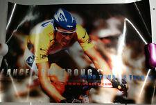 2000 Lance Armstrong Oakley Tour De France TDF Poster Display Pro M Frame