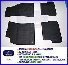 Tappetini AUDI a6 c6 limousine avant anno 2007-2011 Premium in velour nero 8 xclip