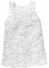 Sehr Süßes Mädchen Kleid in Wollweiß - Gr. 86 - M240 - 972518