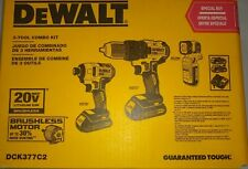 DeWALT DCK377C2 20V MAX Cordless 3-Tool Combo Kit w/ Contractor Bag