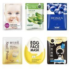 1X Paquete Hoja Facial Máscara Cuidado Piel Cosméticos Profundos Humedad Esencia