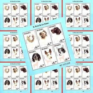 👉 $$ WHOLESALE) NICARAGUA 2000 DOGS M/S x10  MNH DOMESTIC ANIMALS