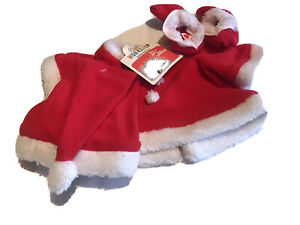 Build-A-Bear Santa Costume for Grinch NWT Exclusive 2020