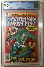 Power Man and Iron Fist #66 - CGC 9.2 - 2nd app. Sabretooth