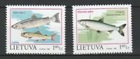 Lithuania 1998 Fauna Fish 2 MNH stamps