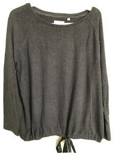 Fat Face Grey Loungewear Lightweight jumper Size 14
