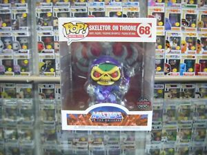 Funko Pop! Rides, Masters Of The Universe, Skeletor On Throne #68 In Protector!