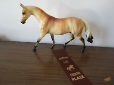 "New listing Peter Stone Pony ""Quarter Roy"" Sr Fcm Factory Custom Buckskin Brindle Palomino"