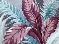 SALE! 2YDS Miami Beach Cottage Barkcloth Vintage Fabric Unused Yardage 1930's