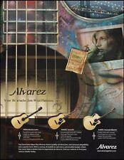 Alvarez Masterworks MD90 AD60SC AJ60SC acoustic / electric guitar 8 x 11 ad