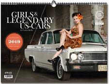 GIRLS & LEGENDARY US-CARS 2019 Wochenkalender von CARLOS KELLA neu 50er Pin Up