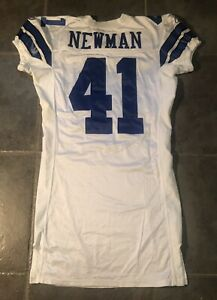 Dallas Cowboys Terence  Newman Reebok game Worn 2005 Jersey Provagroup Certi