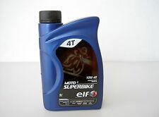OLIO ELF MOTO 4 SUPERBIKE 10W-40 SEMISINTETICO .