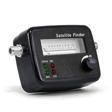 CSL Satfinder / Satellitenfinder mit Pegelskala | HD-fähig | mit Dämpfungsregler