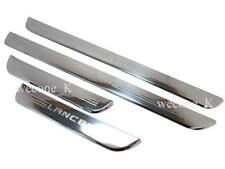 DOOR SILL STAINLESS SCUFF PLATE USE FOR MITSUBISHI LANCER MIRAGE CK2 1996 - 2002