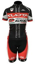 Kuota Cycling Kit clothing short sleeve jersey top and bibshorts padded bibs SET