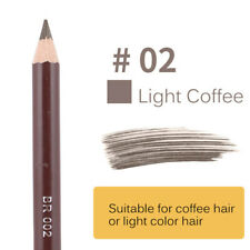 Leopard Waterproof Eyeliner Black Brown Eyebrow Pencil With Brush Women Cosmetic