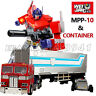 WJ WeiJiang Optimus Prime MPP10 MP10 & Container G1 Transformers OverSize Figure