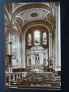 Bristol CHRIST CHURCH Interior - Old RP Postcard by Harvey Barton & Son
