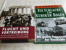 2. WELTKRIEG  2 x Doku , Flucht und Vertreibung / Die Schlacht am Kursker Bogen
